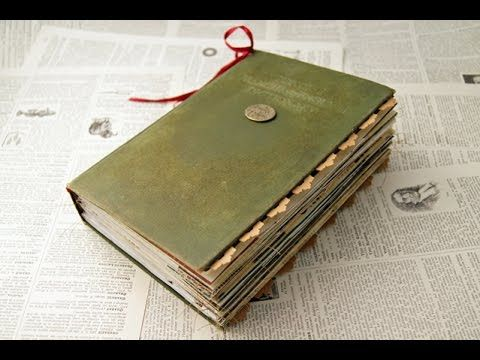 Here's another junk journal I made from an old dictionary. I also have a few work-arounds to share with you in this one, one to cover a boo boo and others ju...