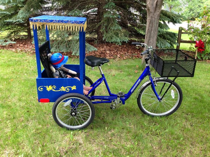 DIY Rickshaw: child seat for an adult trike. | My Projects ...