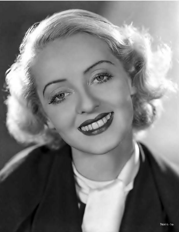 Bette Davis, love her smile
