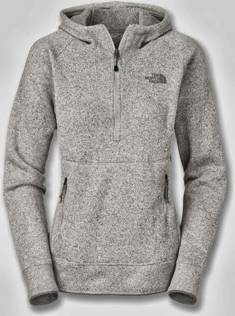 Comfy Grey North Face Hoodie