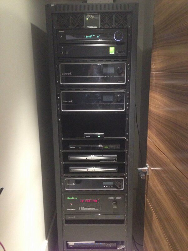 rack attic 44u. Another Rack Brimming With Control4 Gear Via Nirvana_AV Attic 44u