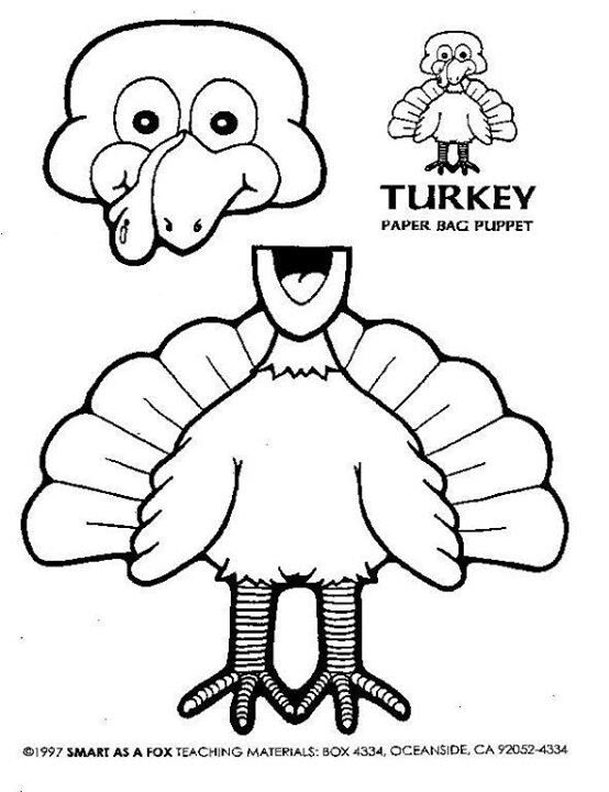 printable turkey puppets 25 best ideas about turkey colors on 2779
