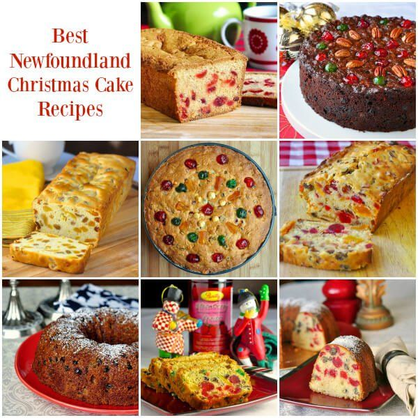 Best Newfoundland Christmas Cake Recipes - a collection of some favourite recipes from my childhood plus new twists on tried & true traditional fruitcake. | Rock Recipes