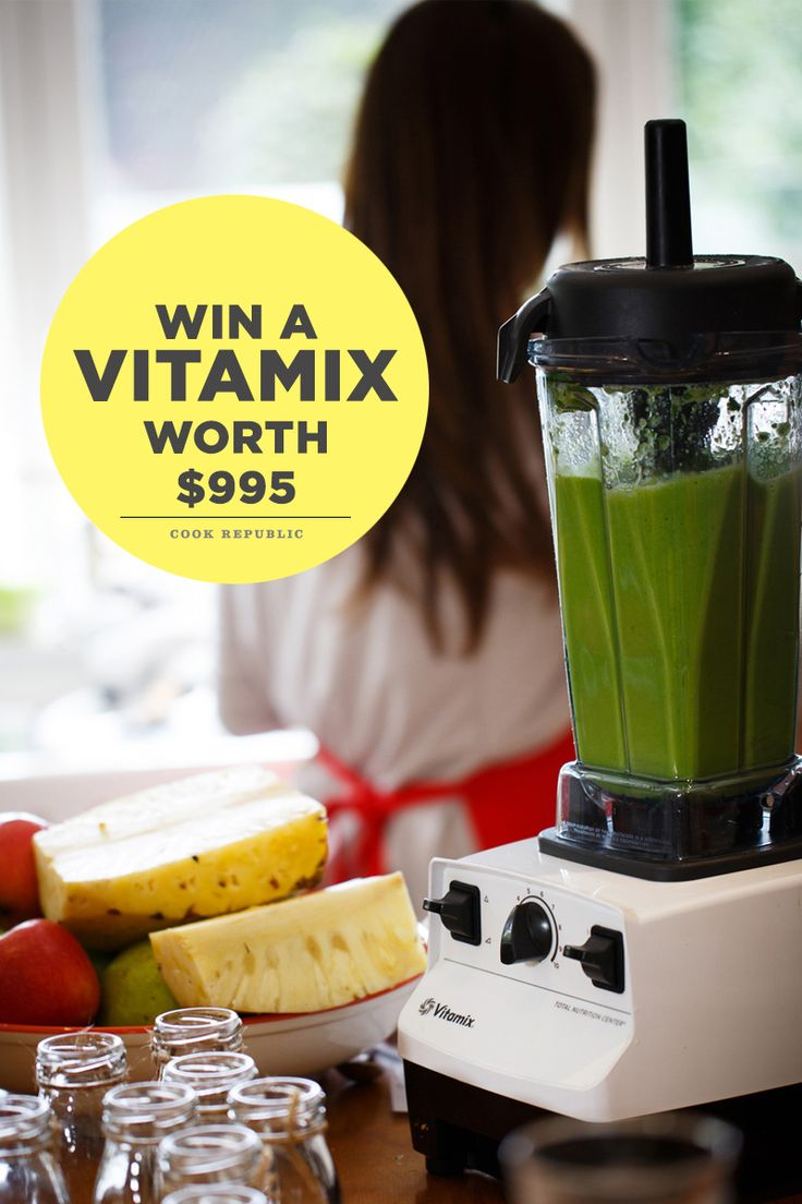 Win A Vitamix Blender Worth $995 And Join The Healthy Revolution
