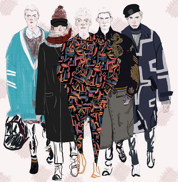 Fashion squad #2 on Behance