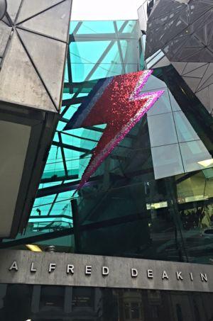 Shimmer Disk Lighting Bolt Formation - IMPRESS Vic