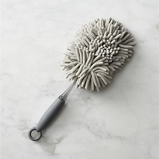 Love that this is washable.  Casabella® Grey Hand Duster I Crate and Barrel