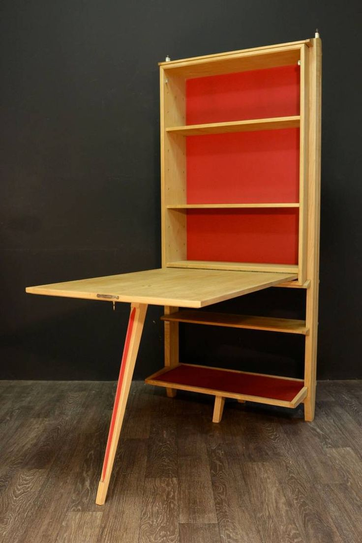 1950s Shelves Desk By Maurice Pr 233 And Janette Laverri 232 Re