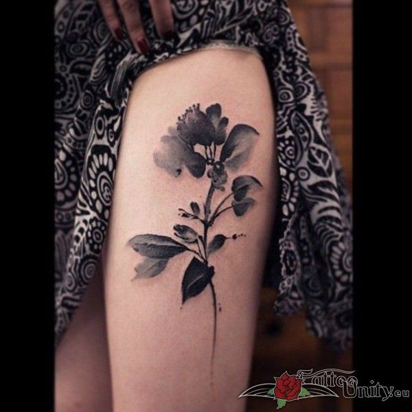 Outstanding tattoo: Very Nice Water Color Tattoo . Come and have a look at more top quality tattoo ideas