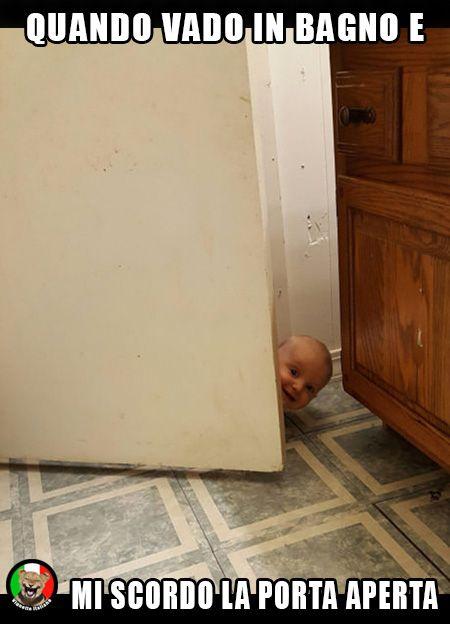 #Bambino in #bagno. #Vignetta e #Vignette, #immagini #divertenti in #italiano e #italiane.