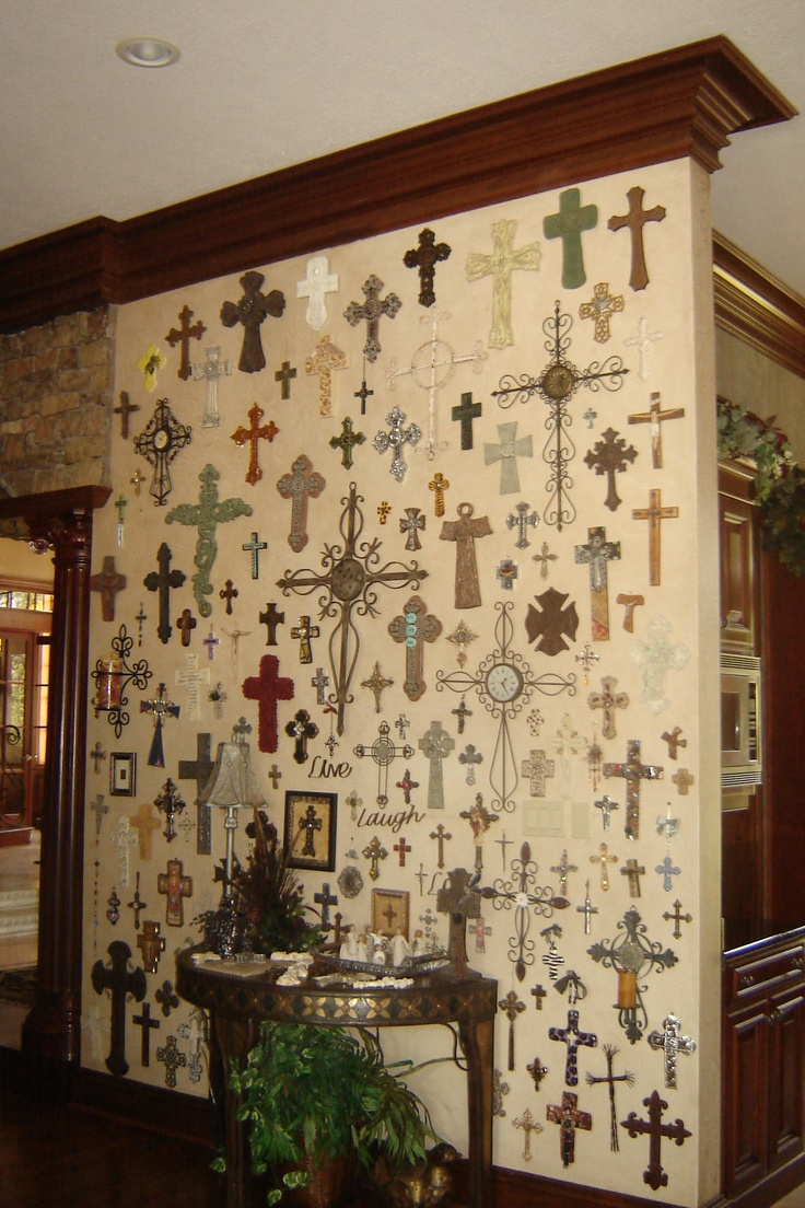 14 best crosses images on Pinterest | Crosses, Cross walls and ...