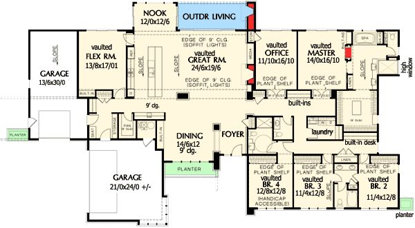 Best 25 ranch homes ideas on pinterest ranch style for Luxury ranch floor plans