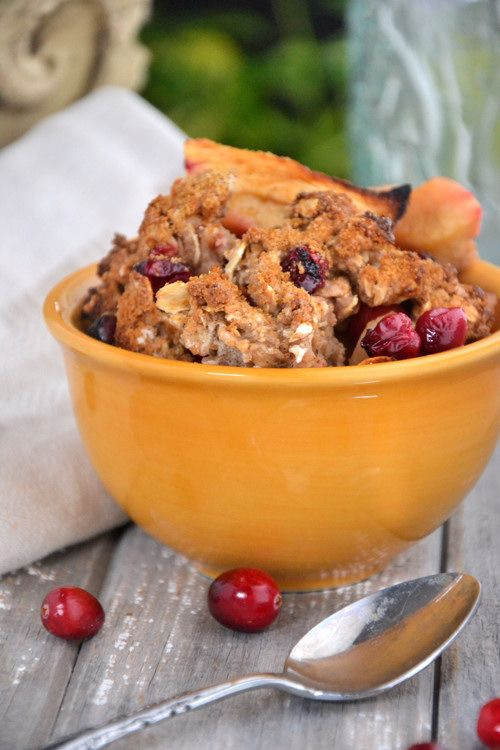 Apple Cranberry Cobbler and What Happiness Means to Me… via ...