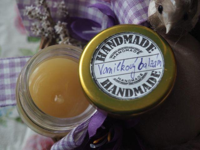 Vanilkový balzám na suchou pokožku