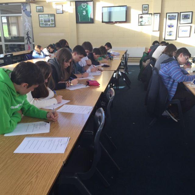 Studying hard during summer school in #kilkenny #ireland http://bit.ly/1b5Bub4