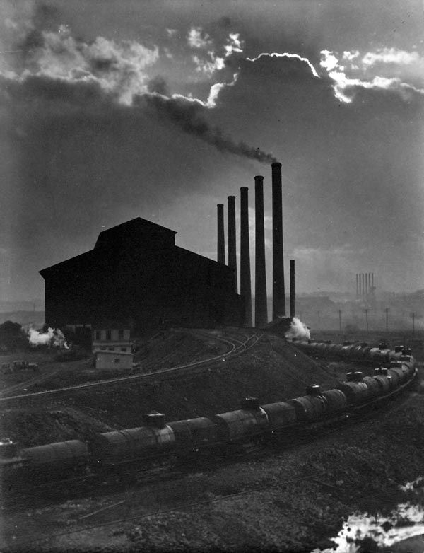 Margaret Bourke-White. Otis Steel Company, 1929.