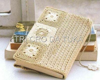 book covers      ♪ ♪ ... #inspiration #crochet  #knit #diy GB  http://www.pinterest.com/gigibrazil/boards/