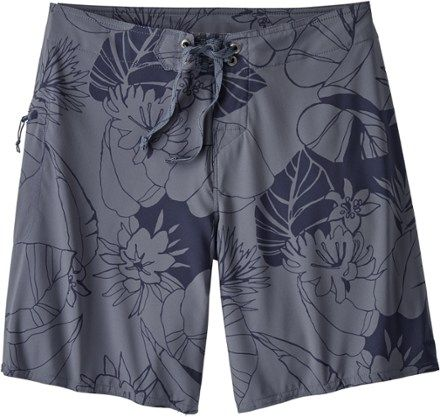 887222a9ce Patagonia Women's Stretch Planing Board Shorts Dolomite Blue/Valley Flora 12