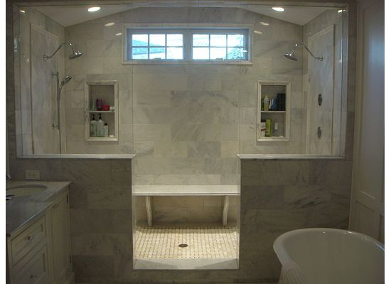 2 Person Shower Master Bathrooms Pinterest Style