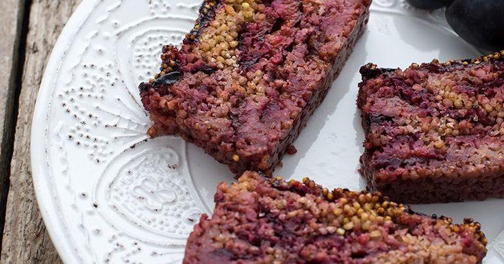 true taste hunters - kuchnia wegańska: Właściwości kaszy jaglanej i proste dietetyczne ciasto z kaszy jaglanej i śliwek (wegańskie, bezglutenowe, bez cukru)