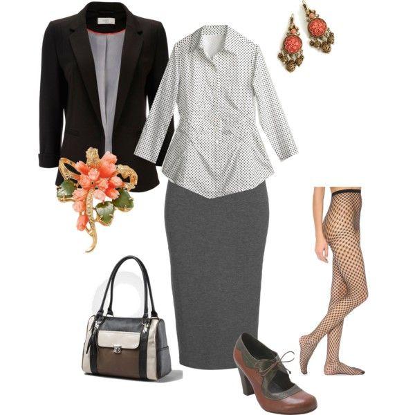 """Strictly business"" by maria-kuroshchepova on Polyvore"