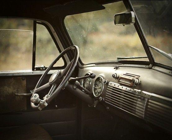 steering wheel, vintage