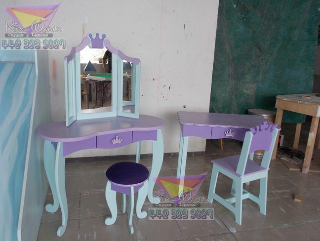 1000 mueble tocador pinterest como hacer - Muebles de princesas ...