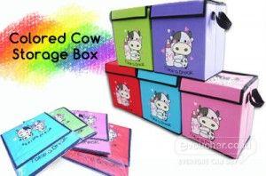 Colored Cow Storage Box, Tempat Menyimpan / Membawa Barang - Barang Yang Lucu Dan Berguna Dirumahmu Hanya Rp.59,000  - www.evoucher.co.id #Promo #Diskon #Jual  Klik > http://evoucher.co.id/deal/Colored-Cow-Storage-Box  Colored Cow Storage Box, Kotak Tempat menyimpan barang - barang yang dapat dibawa. Memudahkanmu saat pindah / bepergian Juga sebagai tempat penyimpanan dirumah. Memiliki tampilan lucu & warna menarik  pengiriman mulai 2014-03-31