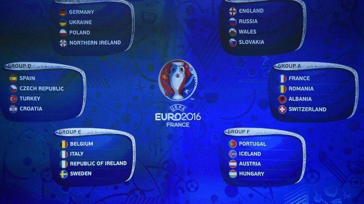 EM 2016 Frankreich Spielplan Termine Ergebnisse UEFA Euro 2016
