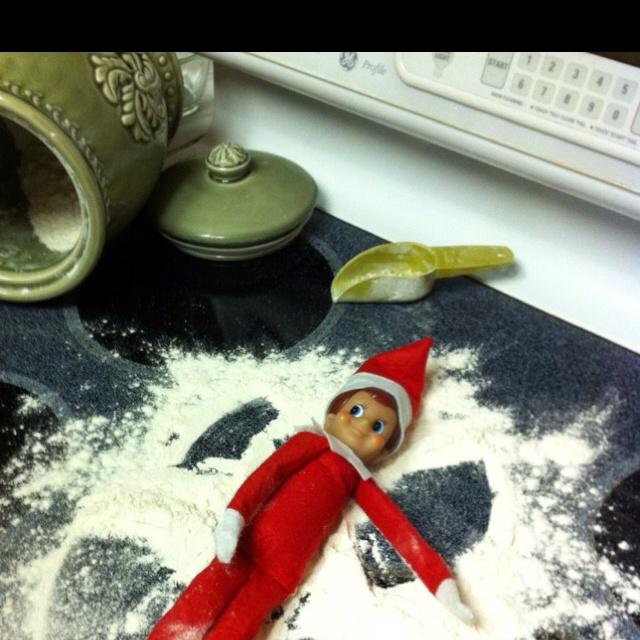 my photo - snow angel elf: Angel Elf, Snow Angels, Photo