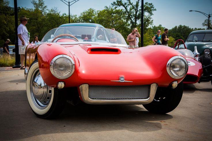 1956 Saab Sonett.