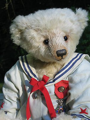 By  Marjoleine Diemel, Artist Teddy Bear, Sailor