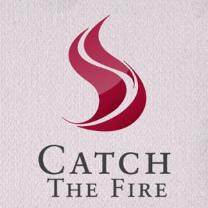 Catch The Fire Ministries logo with eternal flmae.