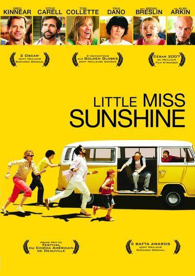 Découvrez l'affiche du film Little Miss Sunshine réalisé par Jonathan Dayton et Valerie Faris avec Abigail Breslin, Greg Kinnear.