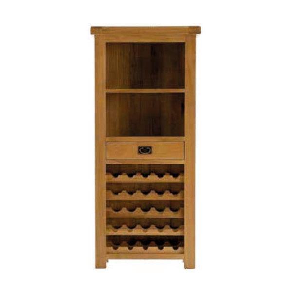 hutch with wine rack
