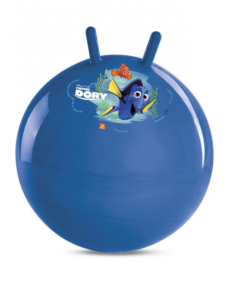 This Finding Dory Nemo Space Hopper Kangaroo Ball is easy to inflate and features grip handles and durable construction. Free UK delivery available
