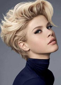 New short hair trends 2017 - http://new-hairstyle.ru/new-short-hair-trends-2017…