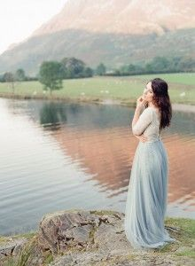 Maid Of Buttermere Fine Art Film Photography Taylor & Porter Bride Lake District Wedding