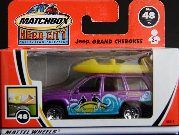 Model Matchbox Jeep Grand Cherokee