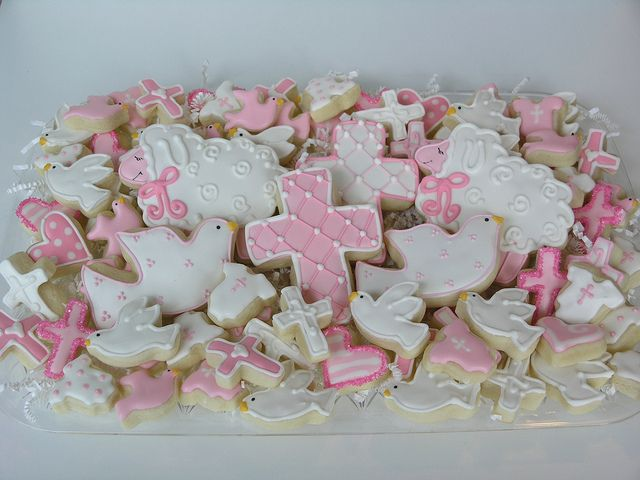 Baby Christening cookies.