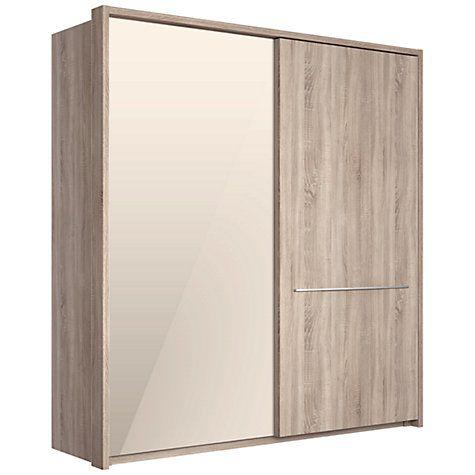 Buy John Lewis Treviso 200cm Wardrobe with Rustic Oak and Bronzed Mirrored Sliding Doors Online at johnlewis.com