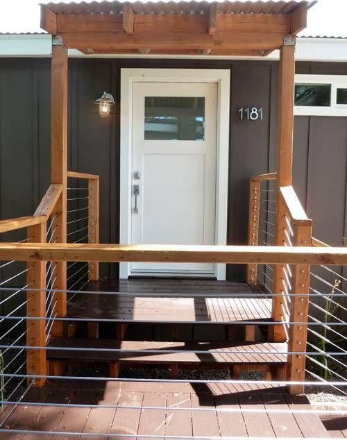 Best 25 manufactured home porch ideas on pinterest for Modular decks