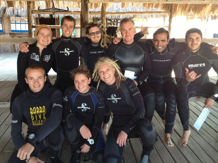 Padi Instructors Course,Mozambique