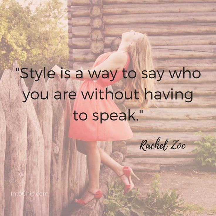Fashion Quotes Rachel Zoe
