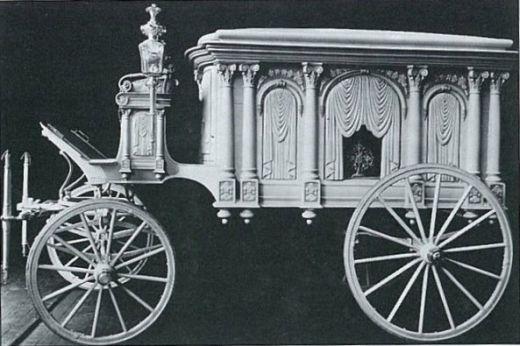 1906 Horse-drawn Hearse*