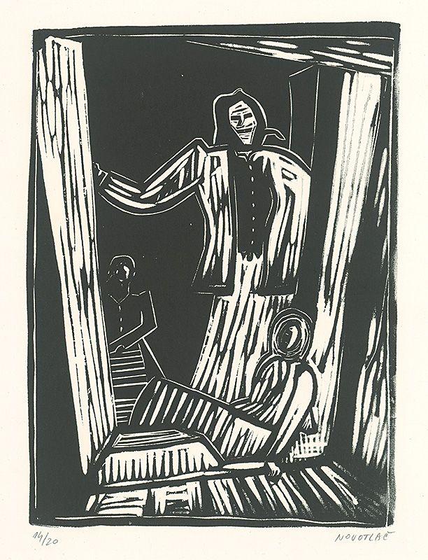 Miloš Alexander Bazovský – Matka a dcéry, 1940-50