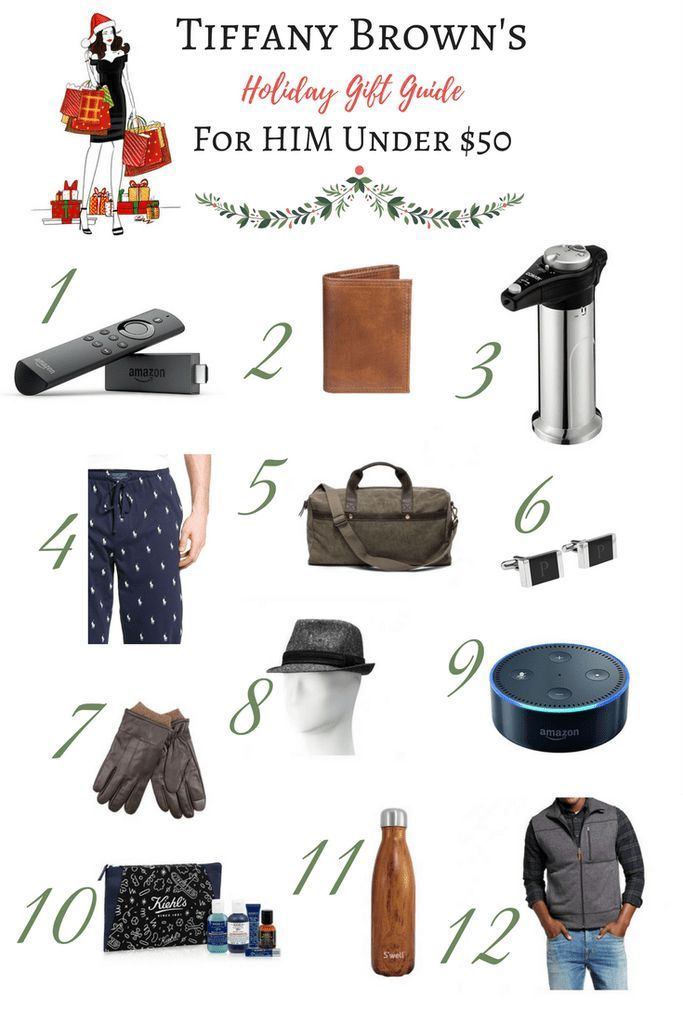 Holiday Gift Guide For Your Special Guy All For Under $50-Tiffany D. Brown