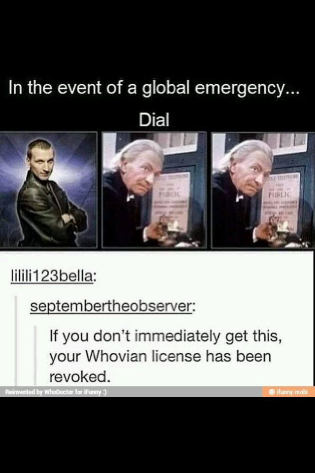 Yaaayy I get to keep my Whovian license...although since it's Britain, shouldn't it be 999?