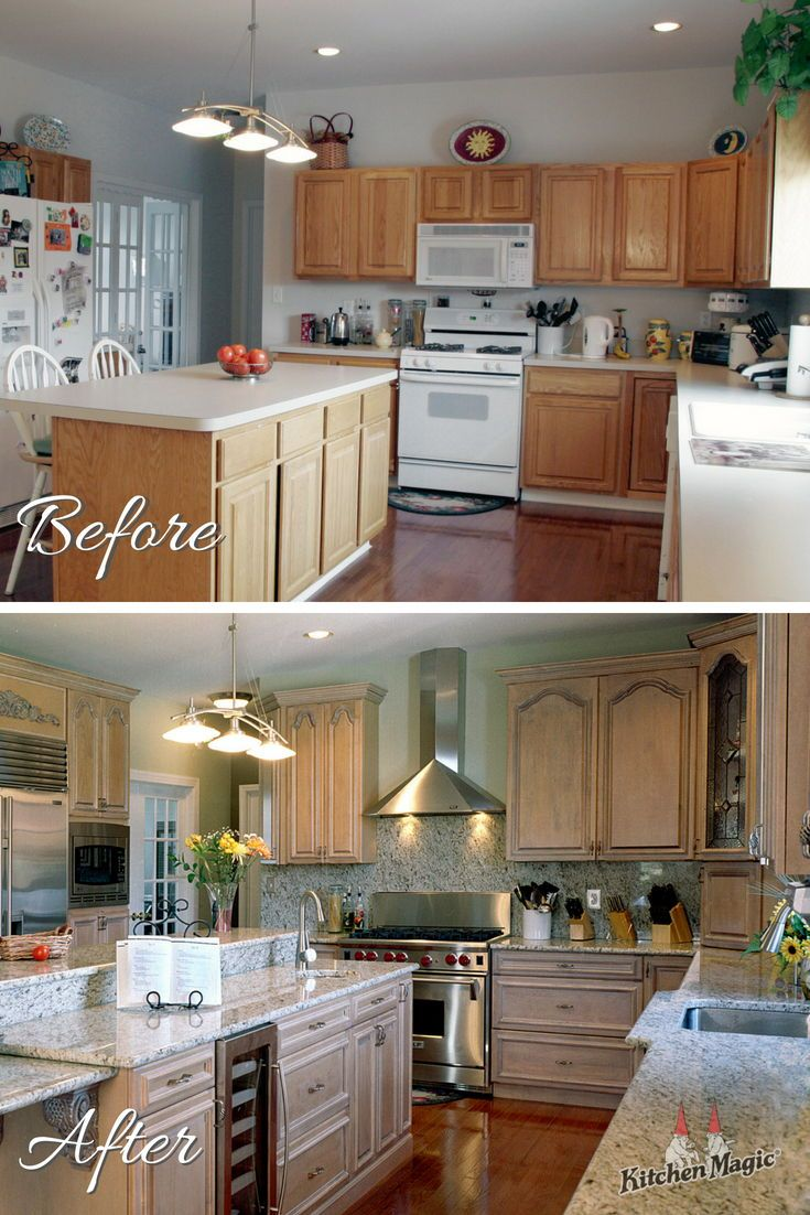This Before After Is Brought To You By Way Of All New Custom Cabinetry When You Choose New Cabinets Kitchen Cabinets Kitchen Transformation Custom Kitchens