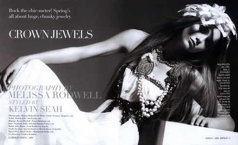 Crown Jewels Editorial from Genlux Magazine, Spring 2009